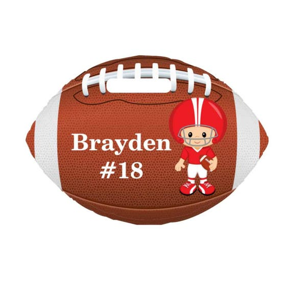 backpack tag, boys football tag, gym bag tag, lunch box tag, sports tag, custom tag, girls tag, personalized tag