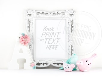 Print Background / Blank Frame / Styled Stock Photography / Product Photography / Staged Photography / Product Background / GR013