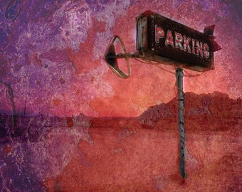 Pioneertown Alien Parking