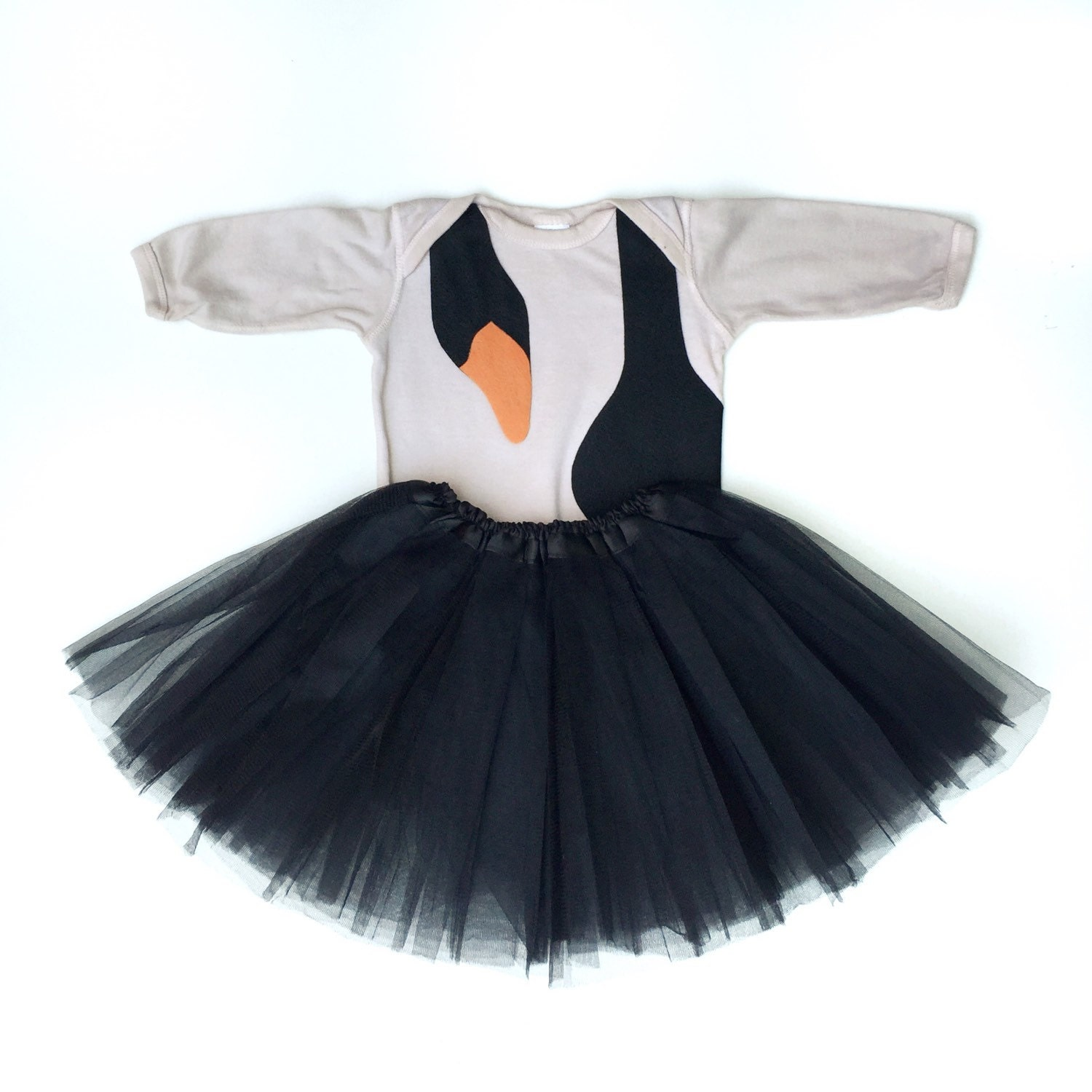 black swan costume baby black swan bird halloween costume. Black Bedroom Furniture Sets. Home Design Ideas