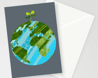 Earth Day card A6