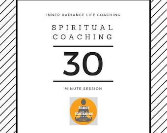 30 minute Spiritual Coaching Session