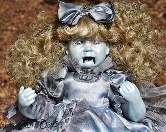 Judyth (OOAK Porcelain Horror Doll)