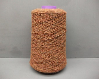 Shetland Yarn 100% Wool 130g Cone 1/9's NM - 2ply Antique Brown