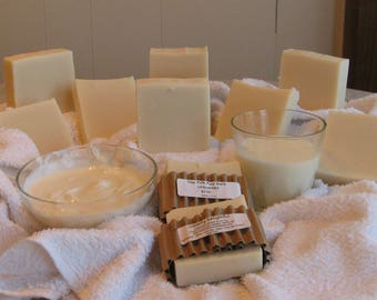 Homemade Cow Milk Soap