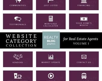 Real Estate Website Categories/Real Estate Blog Graphics/Real Estate Blog Image/Real Estate Blog