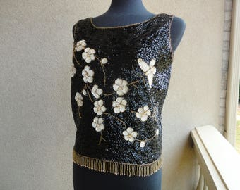 Beautiful Beaded Top
