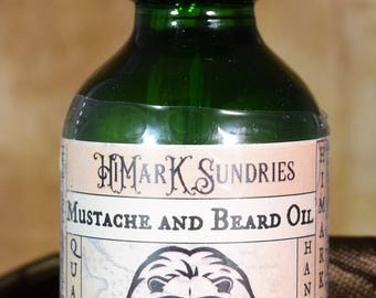 Beard and Mustache Oils - Premium quality oils blended in lots of scents, including unscented!