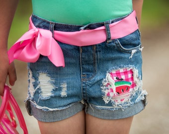 Surprise MYSTERY distressed shorts for girls boutique style