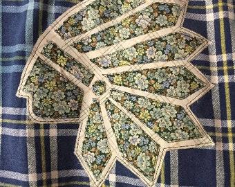 Funky, Hand Altered, Vintage Flannel
