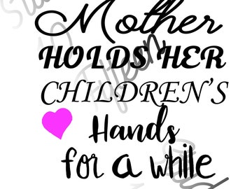A Mothers Day Poem Shirt Instant Download Combo PNG, SVG, SUBLIMATION