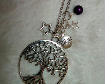 Necklace - hope - creation to adopt or offer