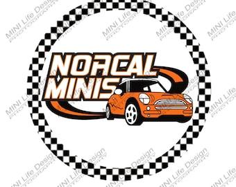 Stickers- Norcal MINIS vinyl stickers