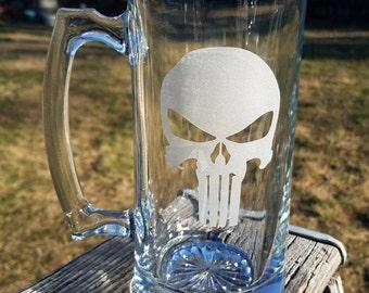 Punisher Etched 25-oz Sports Mug