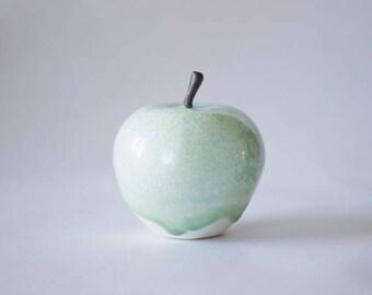 manzana de porcelana