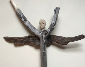 Driftwood Angel Tabbris