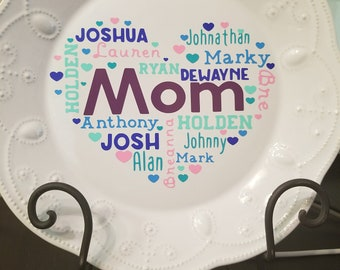 Mother's Day Decorative Plate