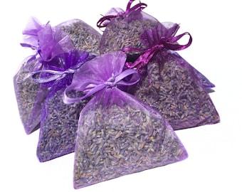 75 Lavender Wedding Favors, Lavender Sachets