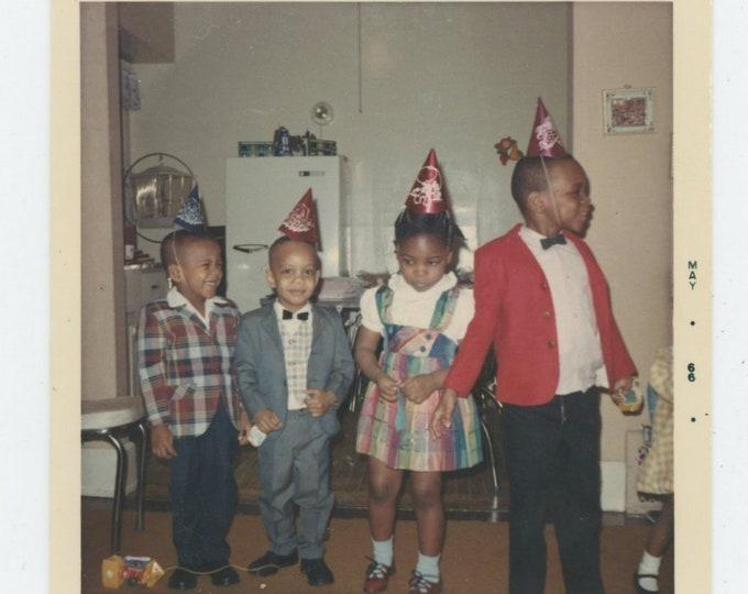 Vintage Snapshot Photo, 1966: Birthday Party [84665]