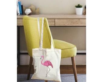 Flamingo gift bags, Pink flamingo bags, tote bag gift, flamingo gift, canvas tote bags, tote bag canvas, tote bag for women, women tote bag