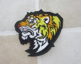 Tiger Badge Animal Patch Iron On