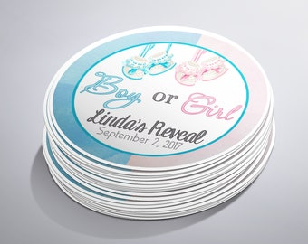 Baby Reveal Party, Baby Shower Stickers, Gender Reveal Favors, Baby Arriving, Gender Reveal Ideas, Boy or Girl Reveal, Gender Reveal Favors