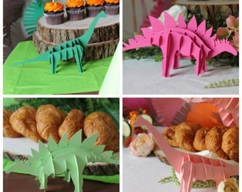 3D custom dinosaurs