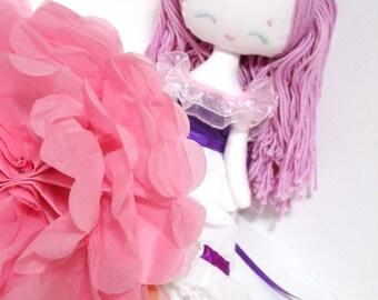 rag doll Sophianne, doll, original doll, plush girl