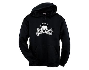 Unisex Hoodie - Skull and Bones