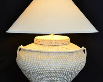 HUGE Modern Table Lamp by Richard Lindley
