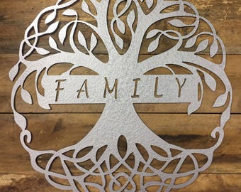 Tree of Life Family Sign