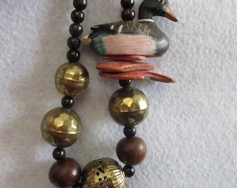 Mallard Necklace