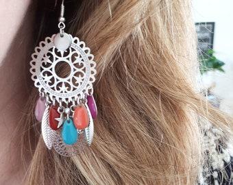 Sweet Boho - multicolor Earrings