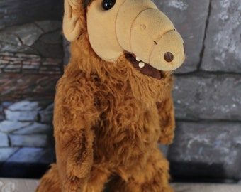 "ALF 18"" Plush Stuffed Animal Vintage 1986 Coleco Alien Production 80s retro collectable"