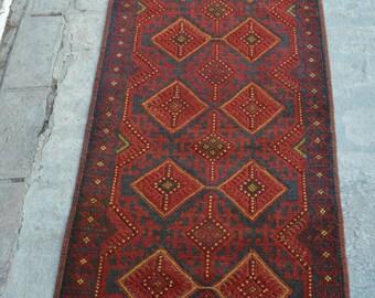 Wholesale Price Hand-knotted vintage afghan herat tribal nomadic mushwani kilim carpet runner rug  Kitchen Afghan rug Oriental rugs Carpets