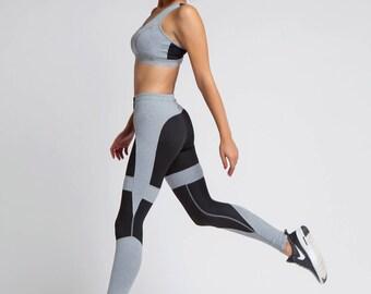 Yoga Leggings, Sport Leggings, Yoga Clothing, Gum Leggings, Plus Size Workout, Fitness Leggings, Jogging Leggings, Women Sportwear, Running