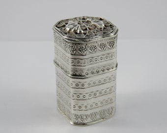 Ornate Sterling Silver Box