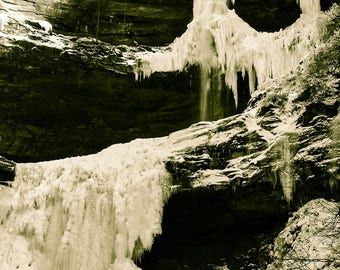 Exploring the Frozen Fall