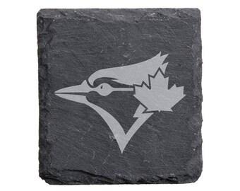 Toronto Blue Jays Engraved Slate Coasters