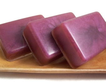 Heather and Hyacinth Soap Bar, Homemade Glycerin Soap, Gift for Her