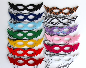 Ready to ship - Best selling Hero Mask - Super hero party favors - Childrens Super Hero Mask - choose from 13 colors - Halloween Mask