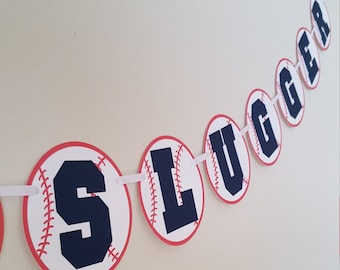 Lil' Slugger, Baseball Banner, Lil Slugger Banner, Baseball Baby Shower, Baseball Birthday, Baseball Party, Baseball Decorations