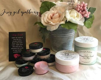 6 Sample Pack-Whipped Lip Scrub Set
