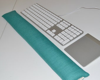 Extra Long Computer Wrist Rest 25 inches - choose fabric and scent Wrist Support