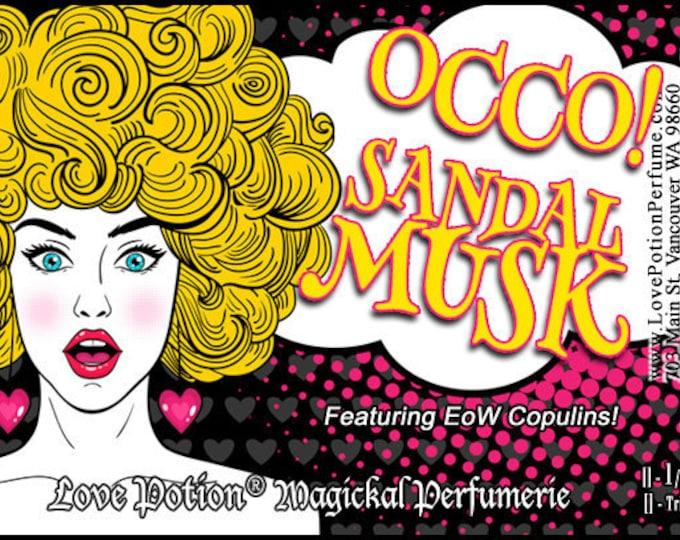 OCCO: Sandal Musk w/Copulins - LIMITED EDITION! - Pheromone Enhanced Perfume for Women - Love Potion Magickal Perfumerie