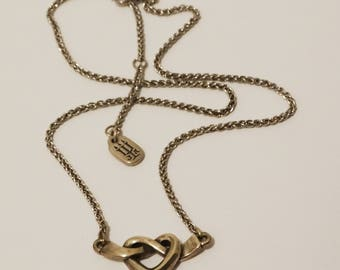 James Avery Sterling Silver Heart necklace.