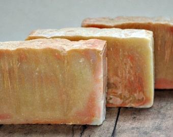 Neroli soap scented Organic Cocoa Butter cold process soap