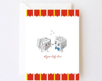 Sugar Baby Love Greeting Card