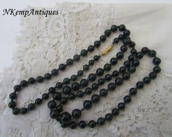 Vintage necklace semi precious stone
