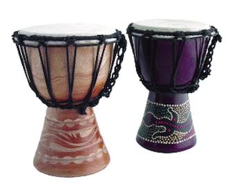 Mini African Djembe Drum